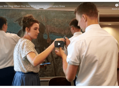 VIDEO: Your Jaw Will Drop When You See What These Missionaries Drew