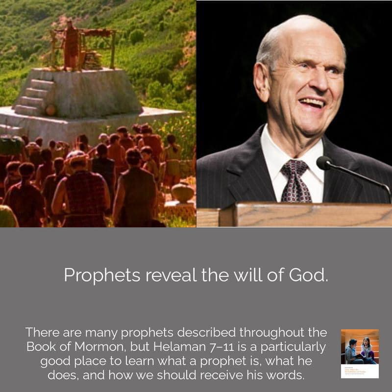 **#ComeFollowMe nugget** What do prophets do?