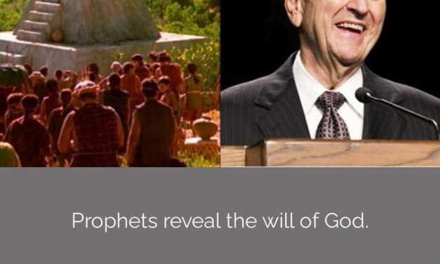 **#ComeFollowMe nugget**   What do prophets do? Come Follow Me (Helaman 7-12)