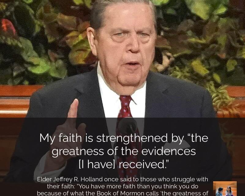 #ComeFollowMe WITH Elder Holland: UPON THE ROCK OF OUR REDEEMER HELAMAN 1-6 ( COME FOLLOW ME )To those who struggle with their faith…