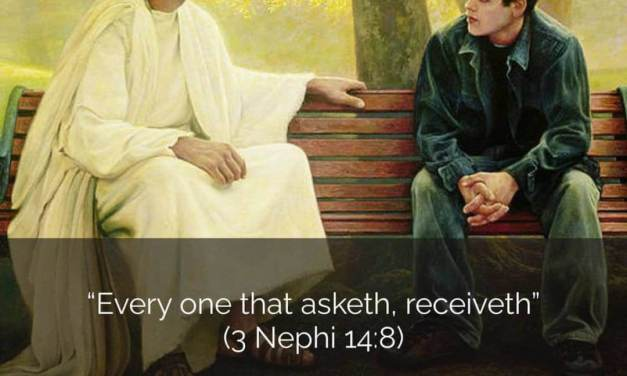 COME FOLLOW ME 3 NEPHI 12-16 (SEPT. 21-27) | #COMEFOLLOWME | The Lord's invitation to ask, seek, and knock