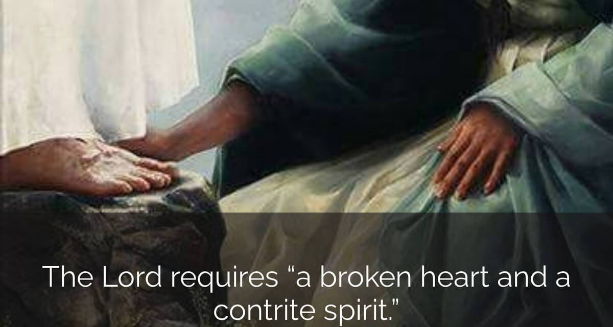 "#ComeFollowMe nugget — 3 Nephi 8-11 — Book of Mormon Lesson 37: September 14–20 ""Arise and Come Forth unto Me"" — A broken heart and a contrite spirit"