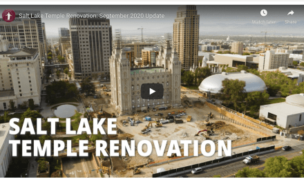 VIDEO: Salt Lake Temple Renovation Enters the Foundation-Strengthening Phase: A Window Into Past, Present and Self