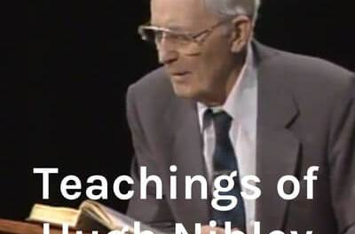 Do you love Hugh Nibley? Check out his consolidated works in a single podcast