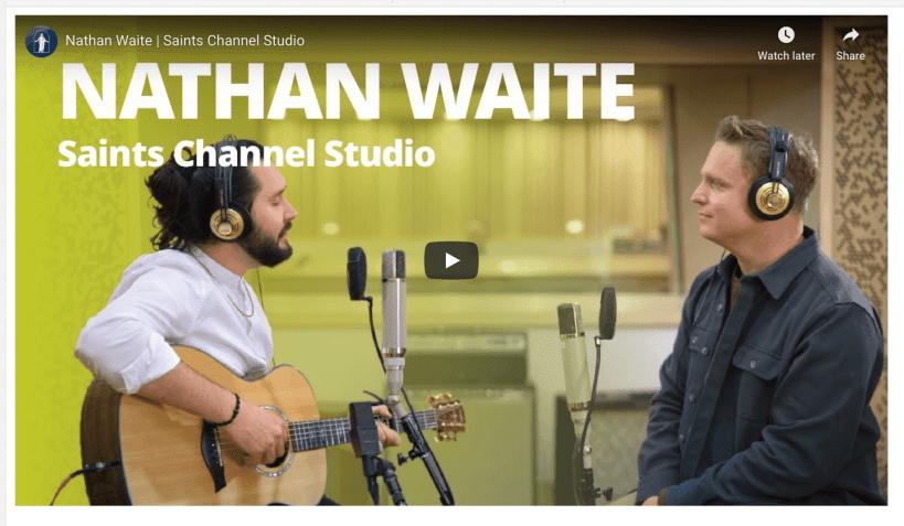 VIDEO: Nathan Waite | Saints Channel Studio