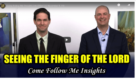 VIDEO: COME FOLLOW ME FROM BOOK OF MORMON CENTRAL (INSIGHTS INTO Ether 1-5 November 9-15) WITH TAYLOR AND TYLER | #COMEFOLLOWME