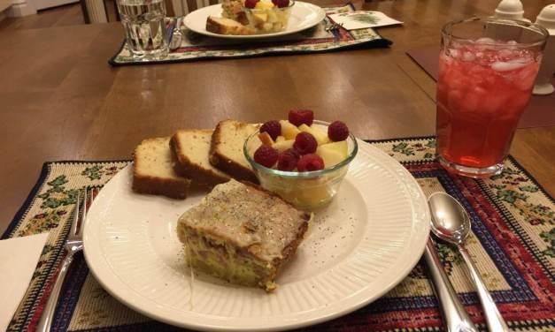 Elder Bednar talks about Bauernfrühstück (farmer's breakfast), a hearty German dish and Christmas