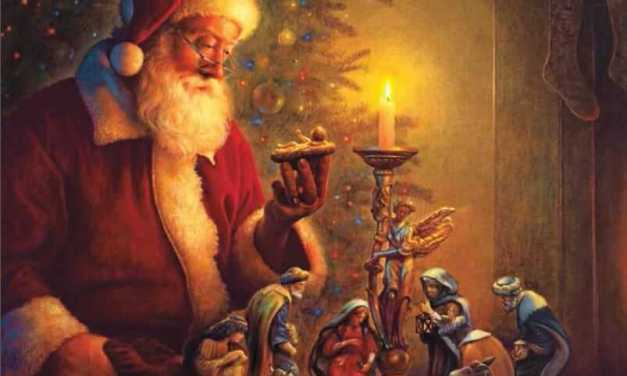 Teach the children the true meaning of Christmas  . . .