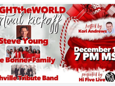 VIDEO: Hi 5 Live #LIGHTtheWORLD VIRTUAL KICKOFF with Steve Young