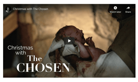 """Join over a hundred thousand people tonight to #LightTheWorld with """"Christmas with The Chosen"""""""
