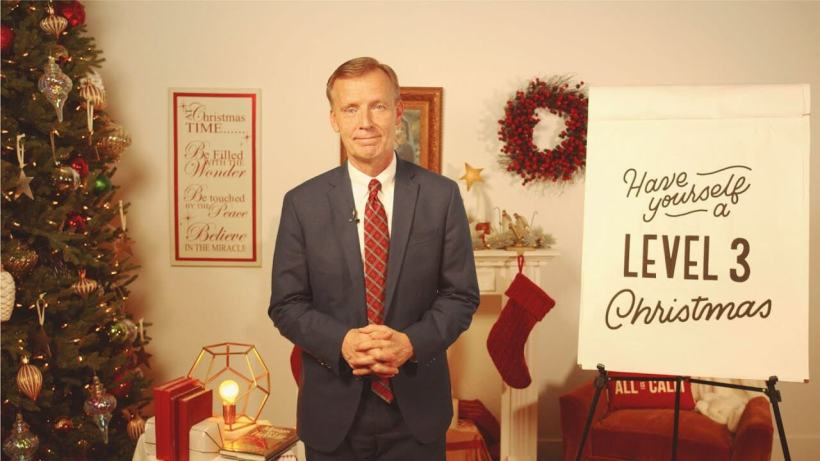 "VIDEO: John Bytheway's 5-Minute Fireside: ""Have Yourself a Level 3 Christmas"" | #LightTheWorld"