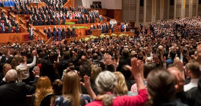 General conference spring 2018 Doctrine and Covenants 26:2 𝚆𝚑𝚊𝚝 𝚒𝚜 𝚌𝚘𝚖𝚖𝚘𝚗 𝚌𝚘𝚗𝚜𝚎𝚗𝚝? When members receive callings or priesthood ordinations in the Church, we have the opportunity to formally sustain them by raising our hands as a show of support. The principle of demonstrating public support and agreement is called common consent.