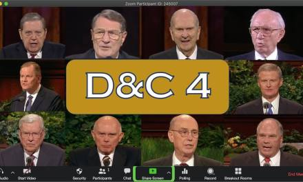 VIDEO: *EPIC* LDS Prophets and Apostles Throw Down Doctrine and Covenants 4 | #ComeFollowMe | Latter-day Divers