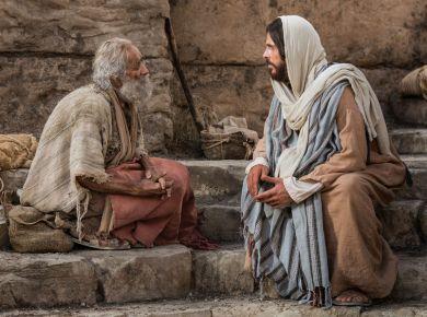 Jesus heals lame man