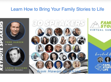 Family Story Virtual Summit—join for FREE!