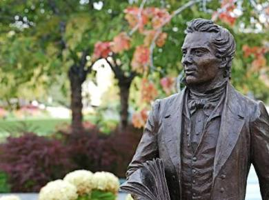 Dc12 joseph smith statue gardens slc Revelation was still a relatively new concept for the Saints as the Restoration continued to unfold.