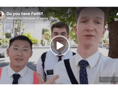 VIDEO: Missionaries share FAITH IS LIKE A SKILL