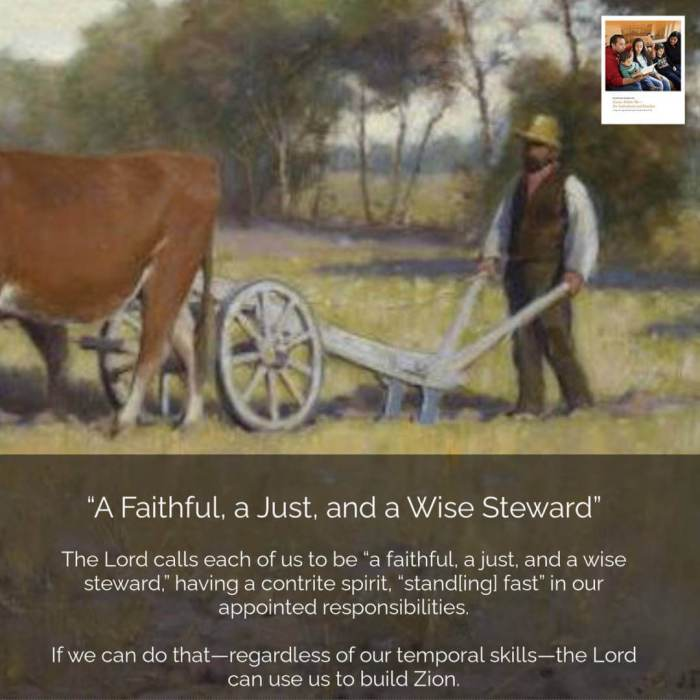 """Doctrine and Covenants 51–57 """"𝙰 𝙵𝚊𝚒𝚝𝚑𝚏𝚞𝚕, 𝚊 𝙹𝚞𝚜𝚝, 𝚊𝚗𝚍 𝚊 𝚆𝚒𝚜𝚎 𝚂𝚝𝚎𝚠𝚊𝚛𝚍"""""""
