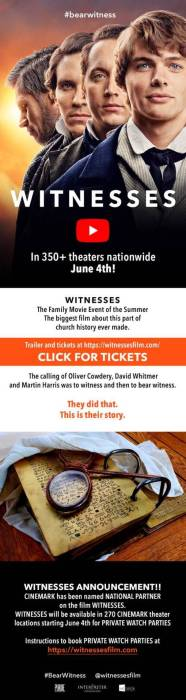 Witnesses email graphic