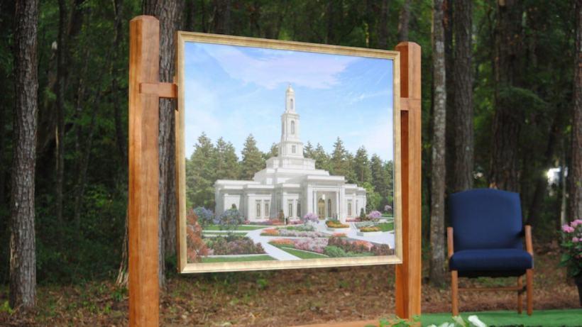Tallahassee Florida Temple Groundbreaking Full Ceremony
