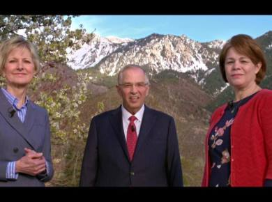 VIDEO: Single Adult Face to Face with Elder Andersen, Sister Bingham and Sister Eubank