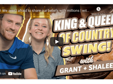 VIDEO: We aren't afraid to share our beliefs with millions | with Grant and Shalee