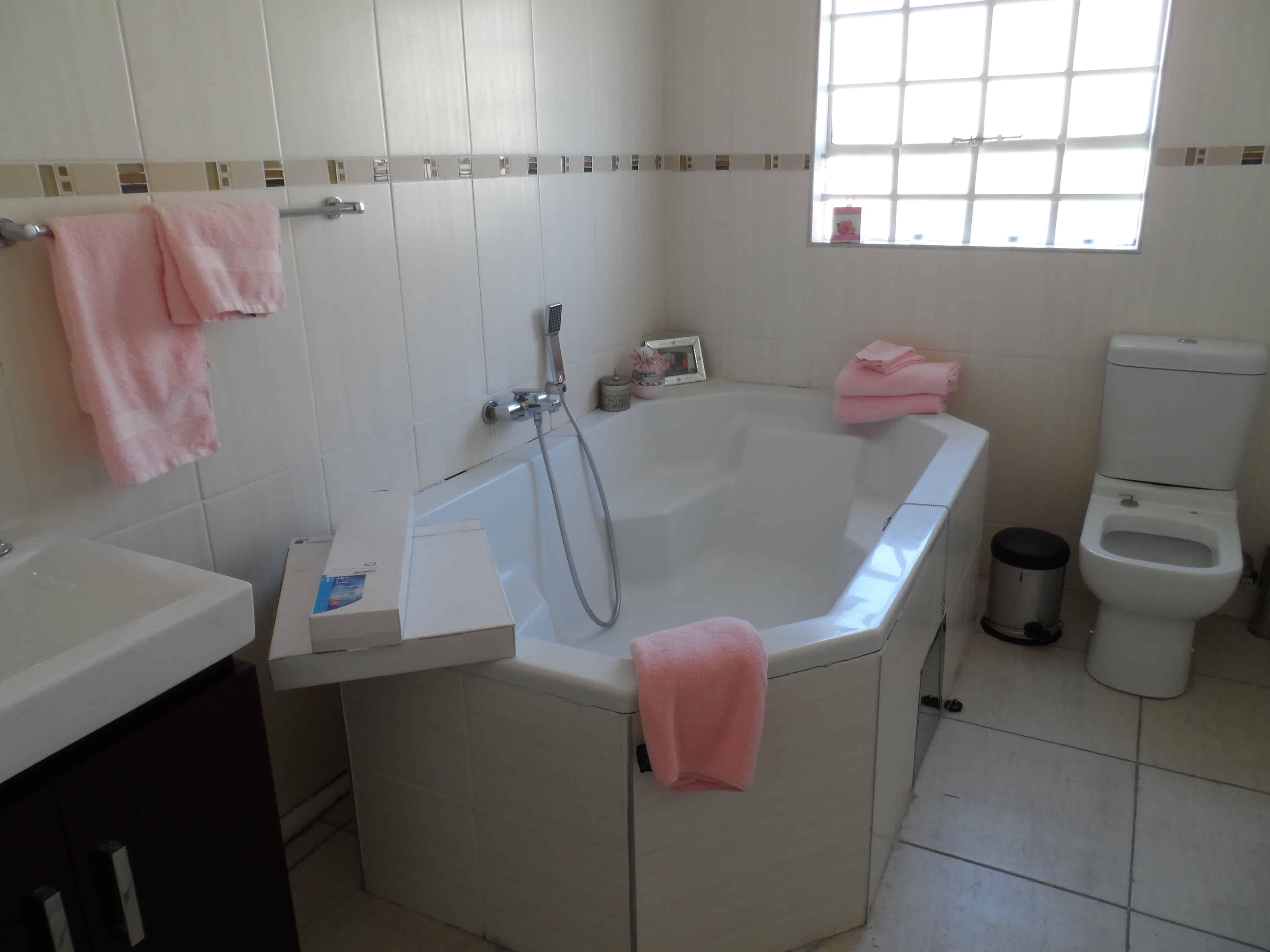 Botswana - noget om tjenestefolk i huset...