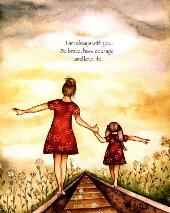 En mors bekymringer stopper aldrig!