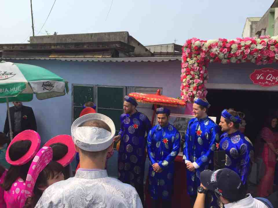 Bryllups ceremoni - utroligt smukt og meget bevægende