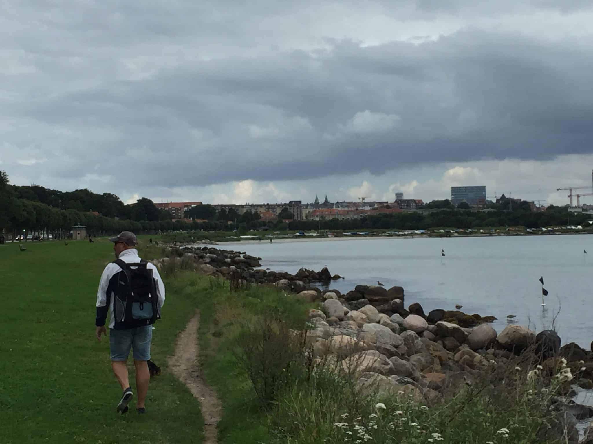 9 kilometer tilbagelagt med Skibshunden som forpost!