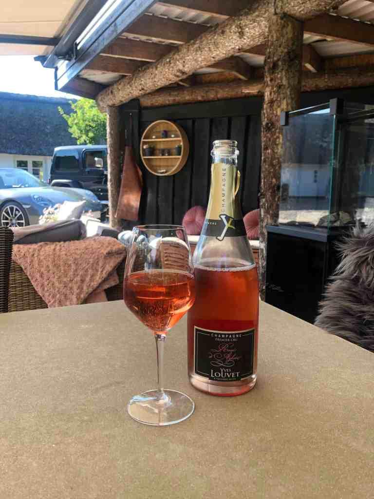 rosé champagne fra julikassen