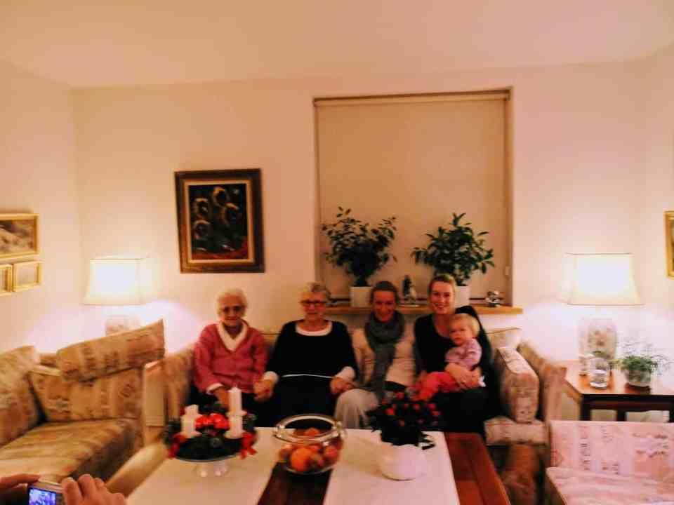 5 generationer kvinder 2013