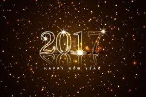 2017 - et nyt friskt og ubrugt år er på vej og jeg glæder mig!!!