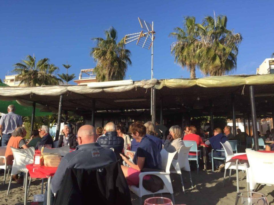 Her er plads til alle i Sunny Spain...