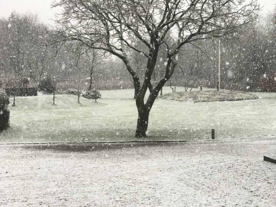 Når det sner på landet...