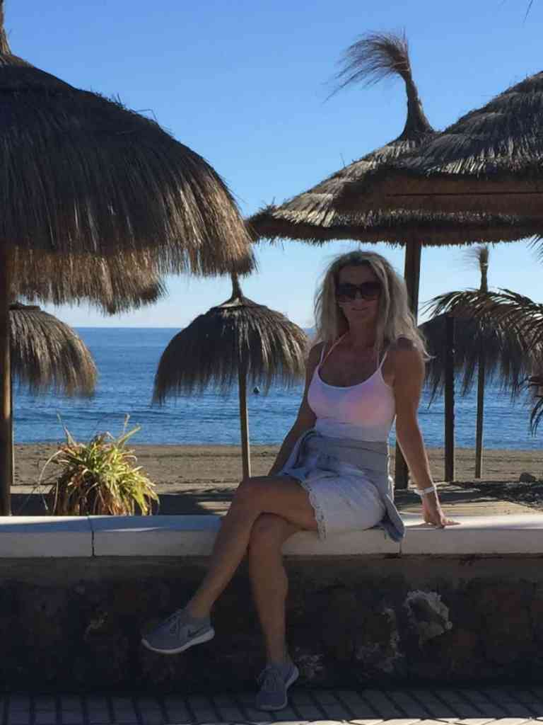 En dejlig dag i solen, langs stranden....repeat, repeat;-)