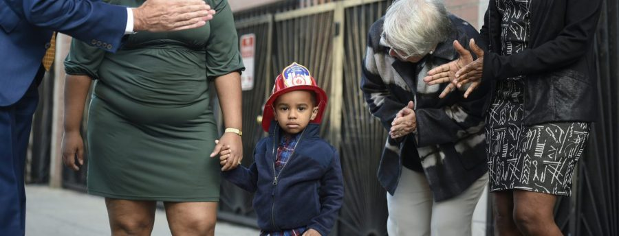Kid with Fire Hat