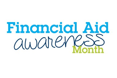 Financial Aid Awareness Month Logo