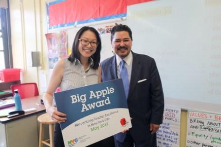 The Computer School's Nicole Chu Is a 2018 Big Apple Award Winner