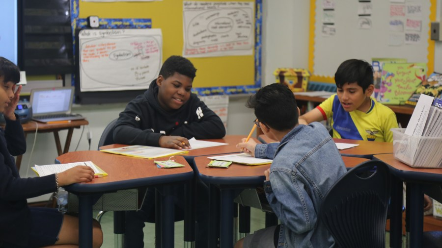 Concourse Village Elementary School's Students Outperform City Students on State Exams