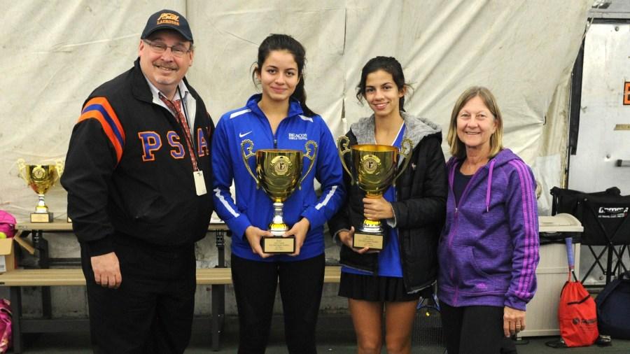 Kyra and Lorraine Bergman Won the 2017–18 PSAL Girls Singles Tennis Championship