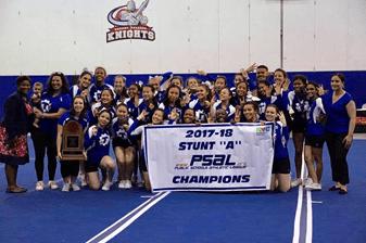 Brooklyn Tech Has Now Won Three Straight PSAL Stunt A Championships