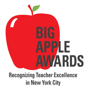Logo for the NYC Department of Education's annual Big Apple Awards