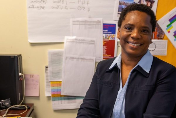 Martine Jolibois is the leader of the DOE's Haitian Creole Translation Team