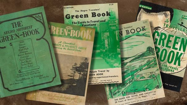 "Five versions of the ""Negro Travelers Green Book"""