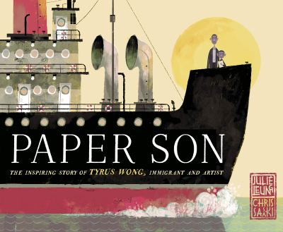 """Book cover for the title, """"Paper Son: The Inspiring Story of Tyrus Wong, Immigrant and Artist"""""""