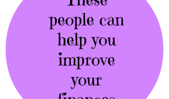 Top people to help you improve your finances