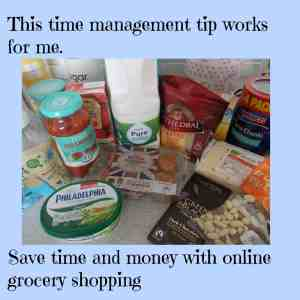 This time management tip helps me save time and money (and my sanity)  ~Online grocery shopping