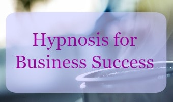 Hypnosis downloads for business success
