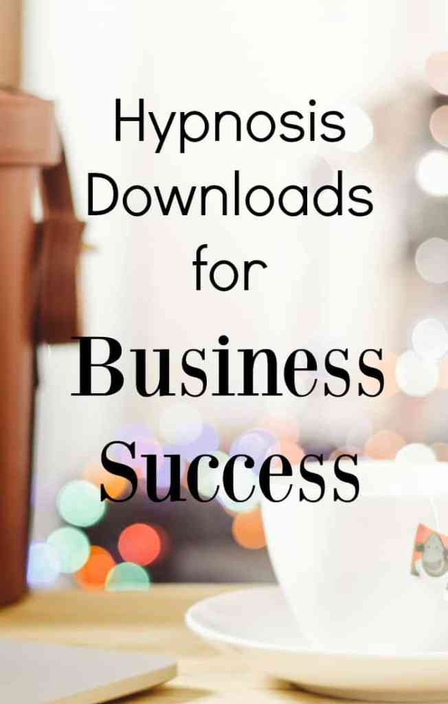 10 hypnosis downloads for business success. I've long used hypnosis downloads to help me in life and business. I've picked out this selection especially for business.